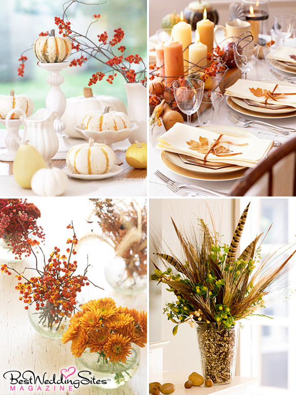 Easy Last Minute Centerpieces For Thanksgiving Or Any Fall