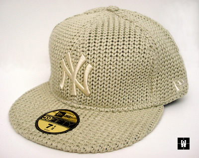 New Era 5950 Knitted Yankees Baseball Cap.  New Era 5950 Knitted NY Yankees Fitted Cap 402c63cfef4