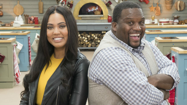 ayesha curry and anthony  u0026quot spice u0026quot  adams dish on abc u0026 39 s  u0026quot the