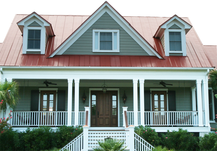 houses with red roofs architectural designs