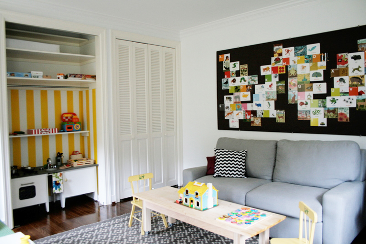 Modern Playroom With Daybed