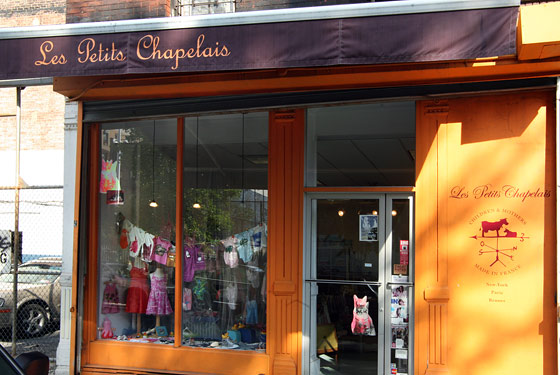 Infant clothing stores in nyc