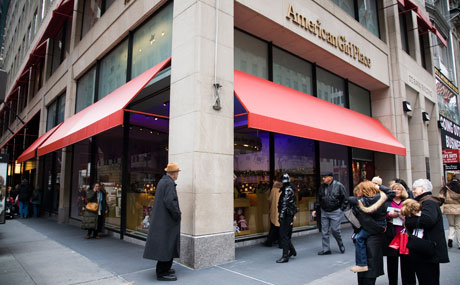 077d4c08 American Girl Place - Midtown NYC Toy Store - New York City Baby ...