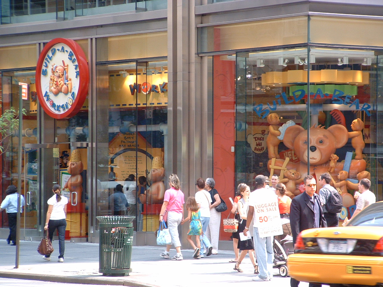 6ba6d87e8 Build-a-Bear Workshop - Midtown NYC Toy Store - New York City Baby ...