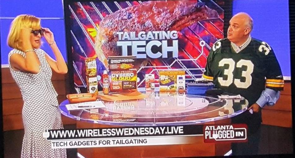 My CBS 46 Atlanta Plugged In, 9/5/17 - Tailgating Tech