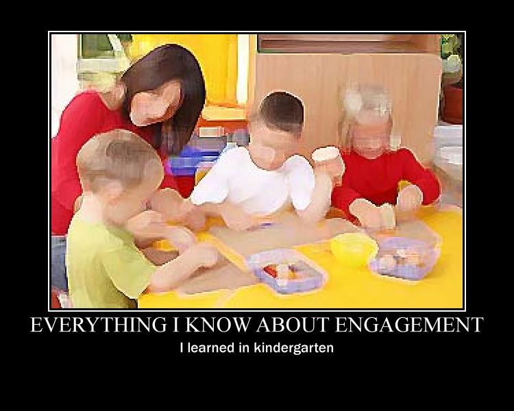 kindergarten - Everything I Know I Learned In Kindergarten
