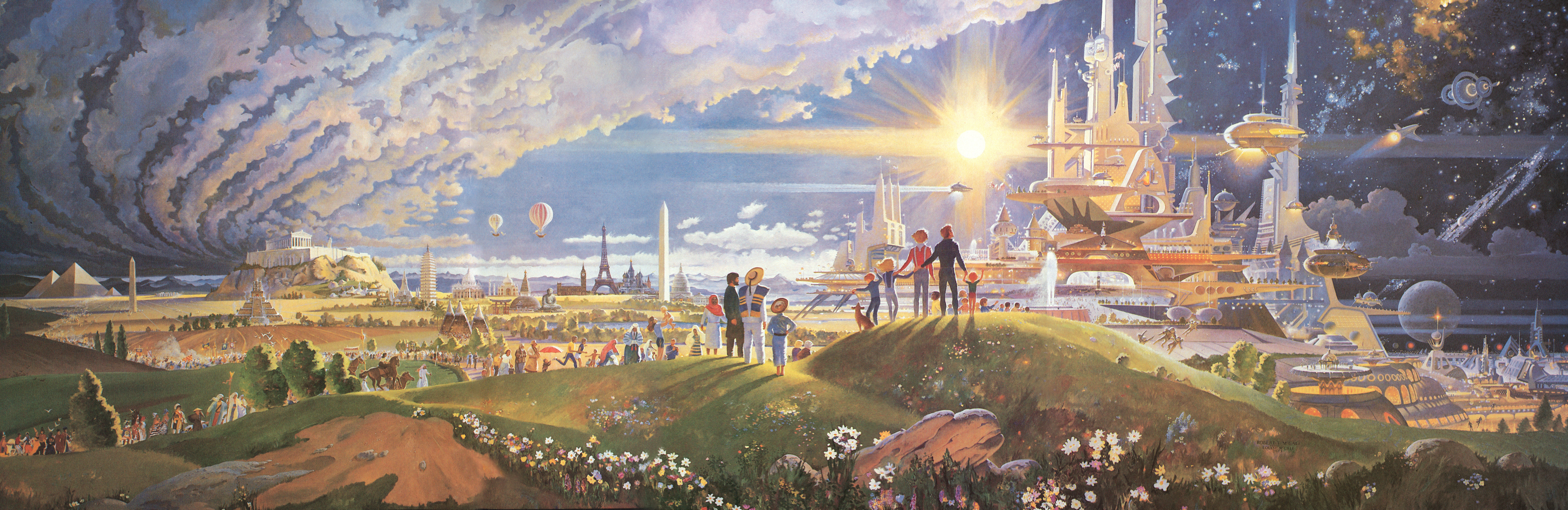 HORIZONS MURAL The Prologue And Promise High Res