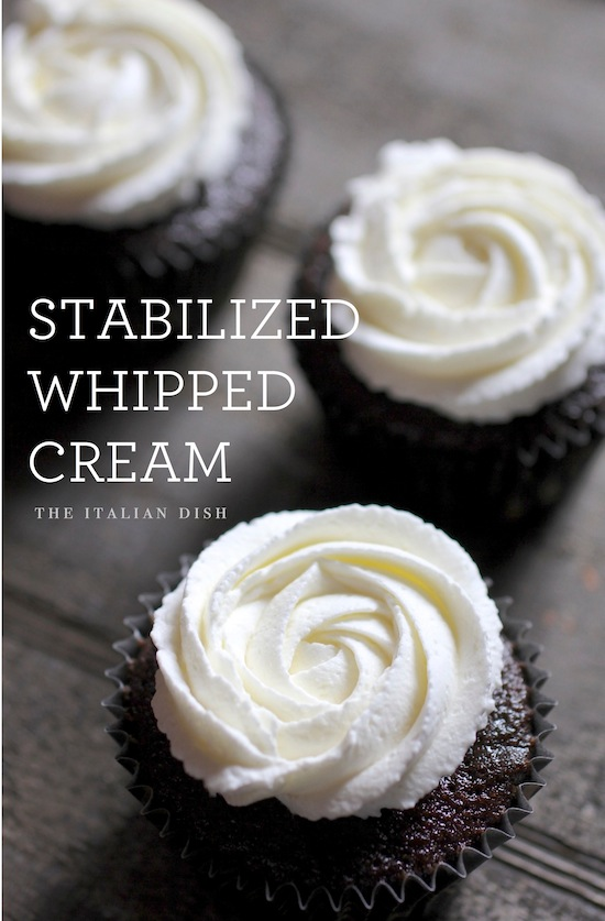 how to make whipped cream frosting for wedding cake the italian dish posts stabilized 16063