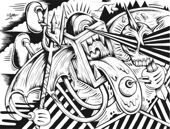 GREG MIKE - ARTIST / DESIGNER - BLOG - DRINK + DOODLE 20