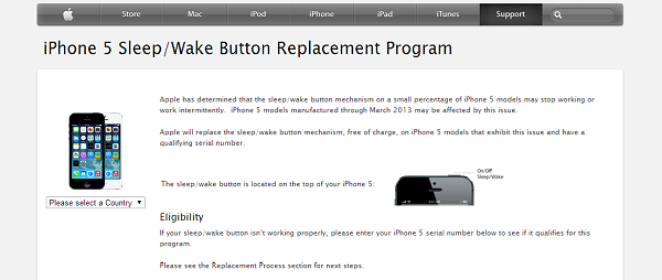 iphone replacement program apple introduces free program to replace faulty iphone 5 12233