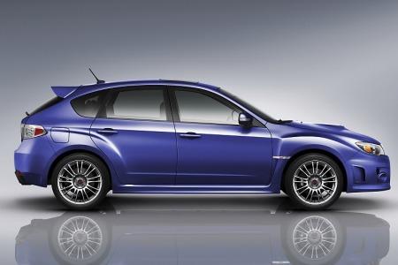 Subaru Sti 2011 Hatchback. WRX STI models Subaru has