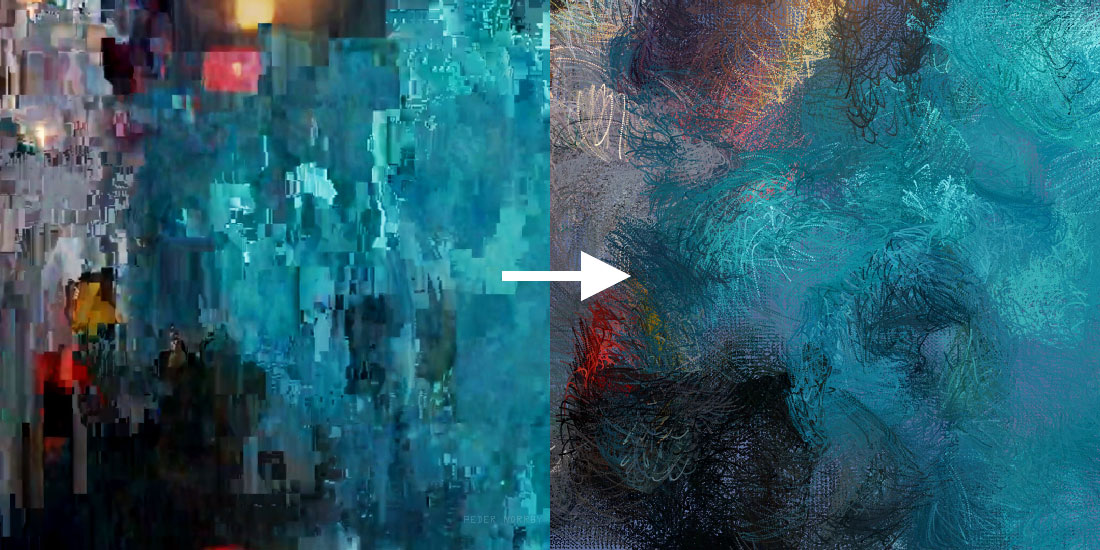 Trapcode - News - Painterly Particular