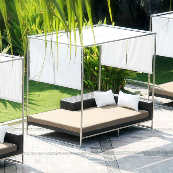 Discover - Paradise Found: Daybeds Were Made for Daydreams ... on Living Spaces Outdoor Daybed id=11851