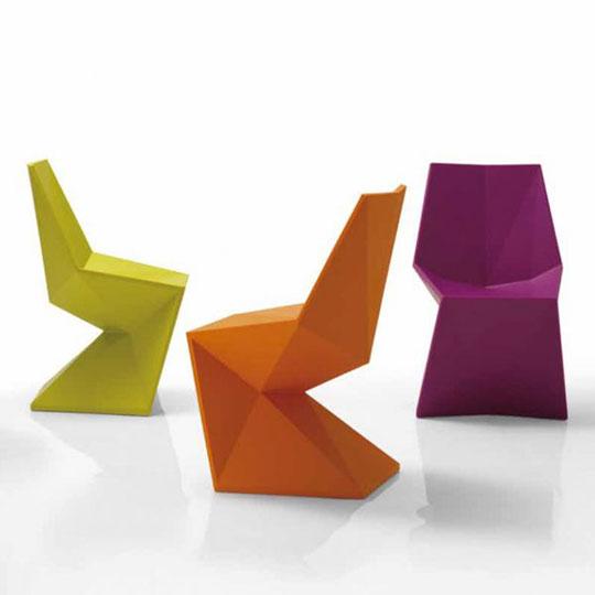 Vondom Vertex Luxury Molded Plastic Patio Chair At Home Infatuation Blog