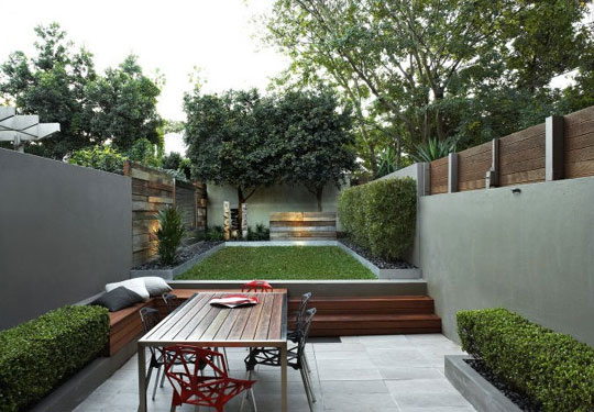 Christine Brun And Michael Wee Small Outdoor E Living At Home Infatuation Blog
