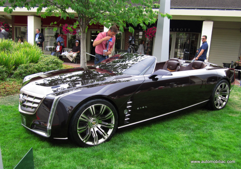 But One Standout Among All The Beautiful Cars I Saw Was Simply Sensational Cadillac Ciel Concept They Should Have Just Called
