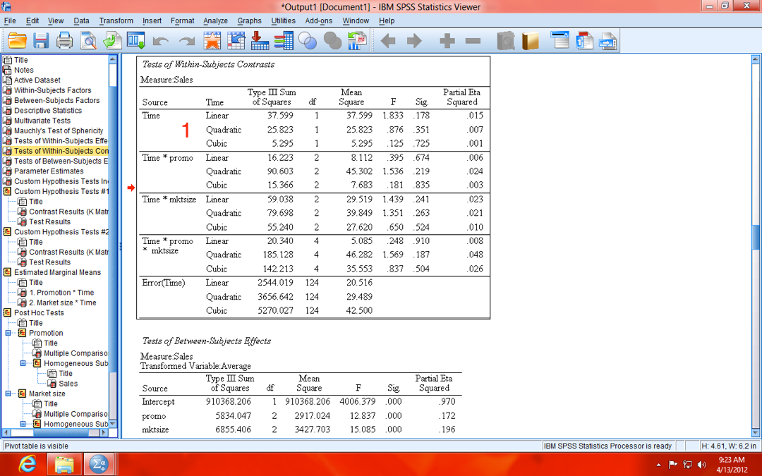 How to Conduct a Repeated Measures MANCOVA in SPSS