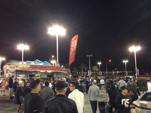 Food Trucks At Car Meets Las Vegas