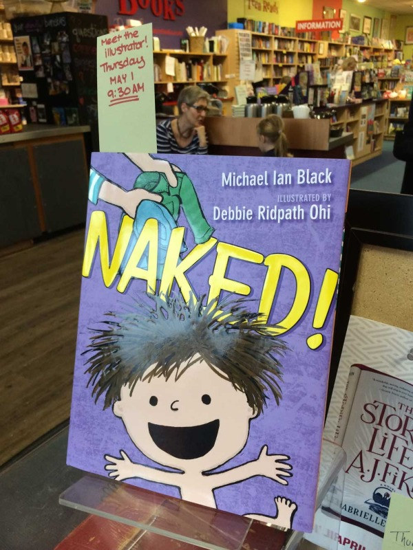 NAKED! Book Tour (Part 4): Talking to Kindergarten and