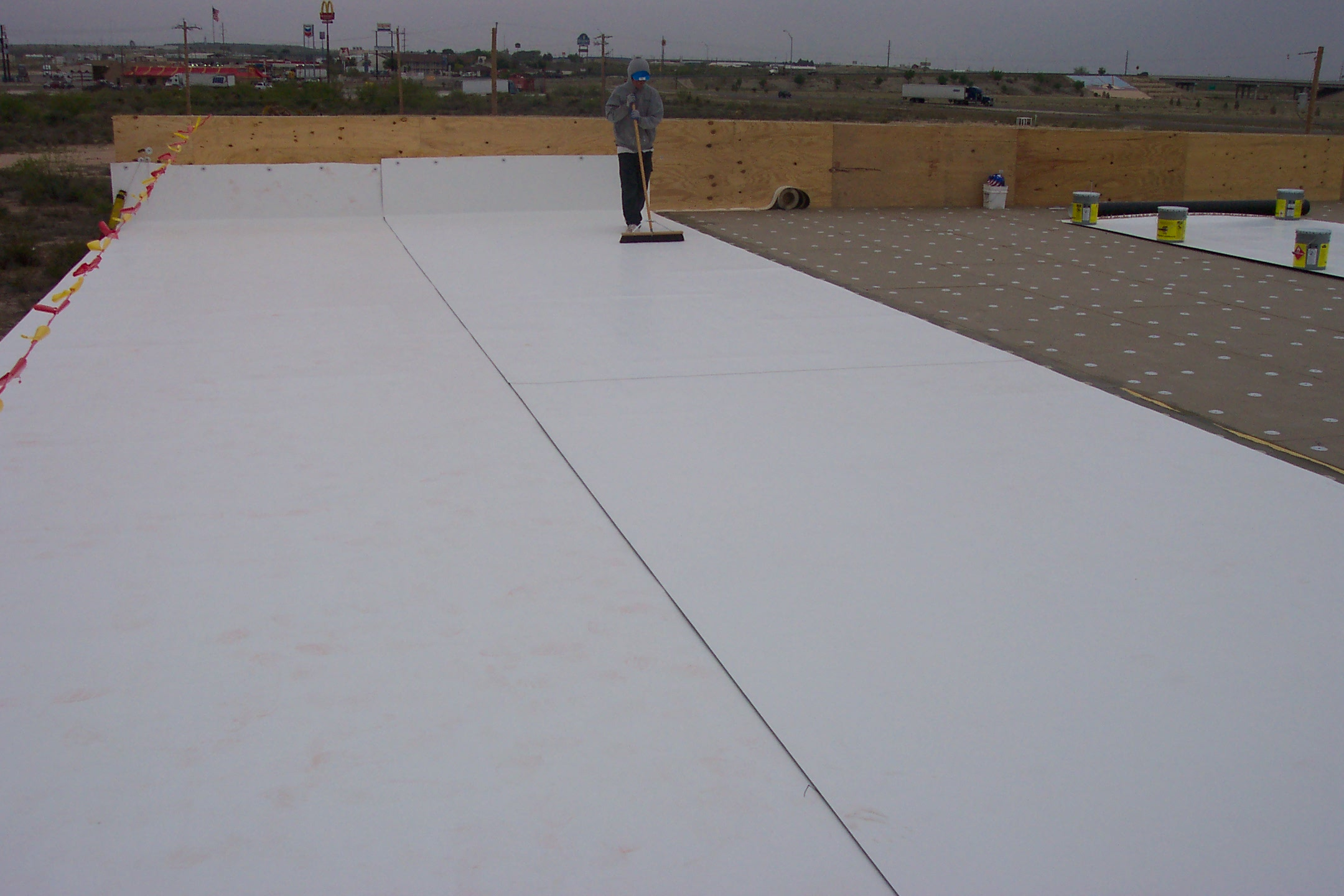 Commercial Roofs Hartman Roofing