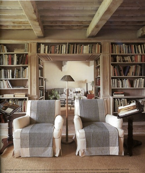 It Adds A Distinct Rustic Influence To The Chairs And Unify Them Design Can You Visualize This Room Without Throws On