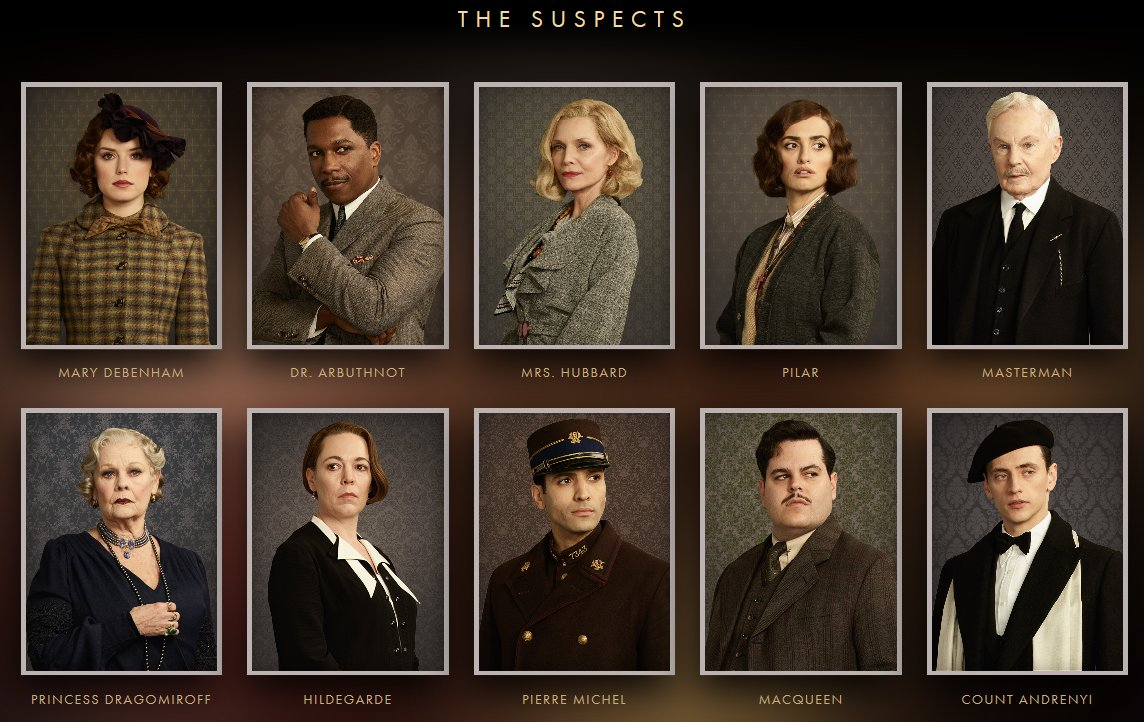 Review Murder On The Orient Express 2017 Blog The Film