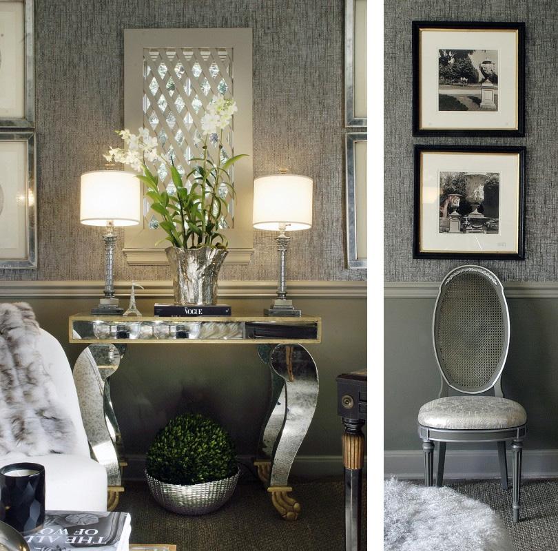 grasscloth wallpaper living rooms - photo #26
