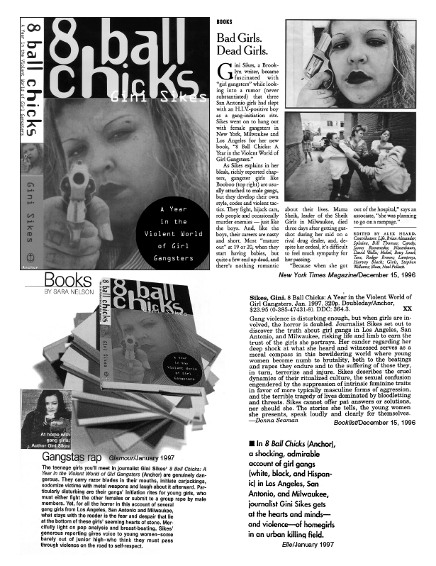 8-Ball Chicks: A Year in the Violent World of Girl Gangsters