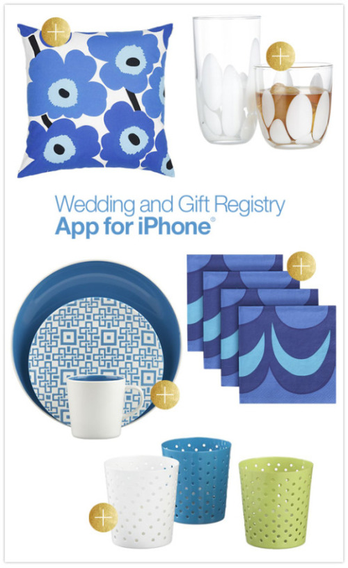 Wedding Gift List App : ... Blog - Crate & Barrel Launches iPhone Wedding and Gift Registry App