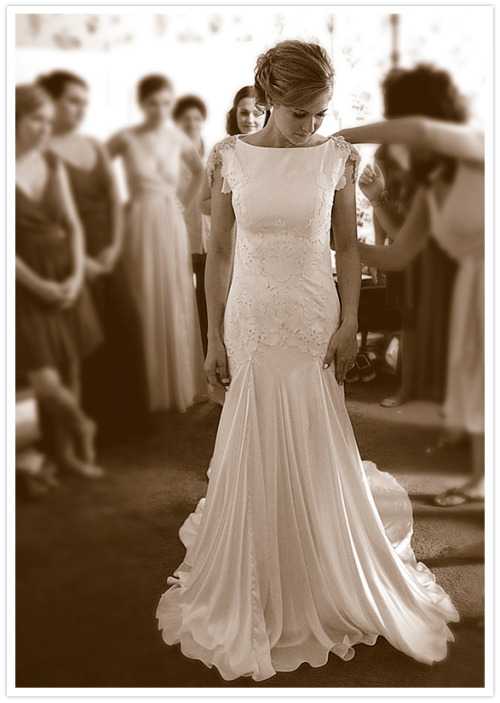 The official blog of the new york institute of art and for Carol hannah wedding dresses