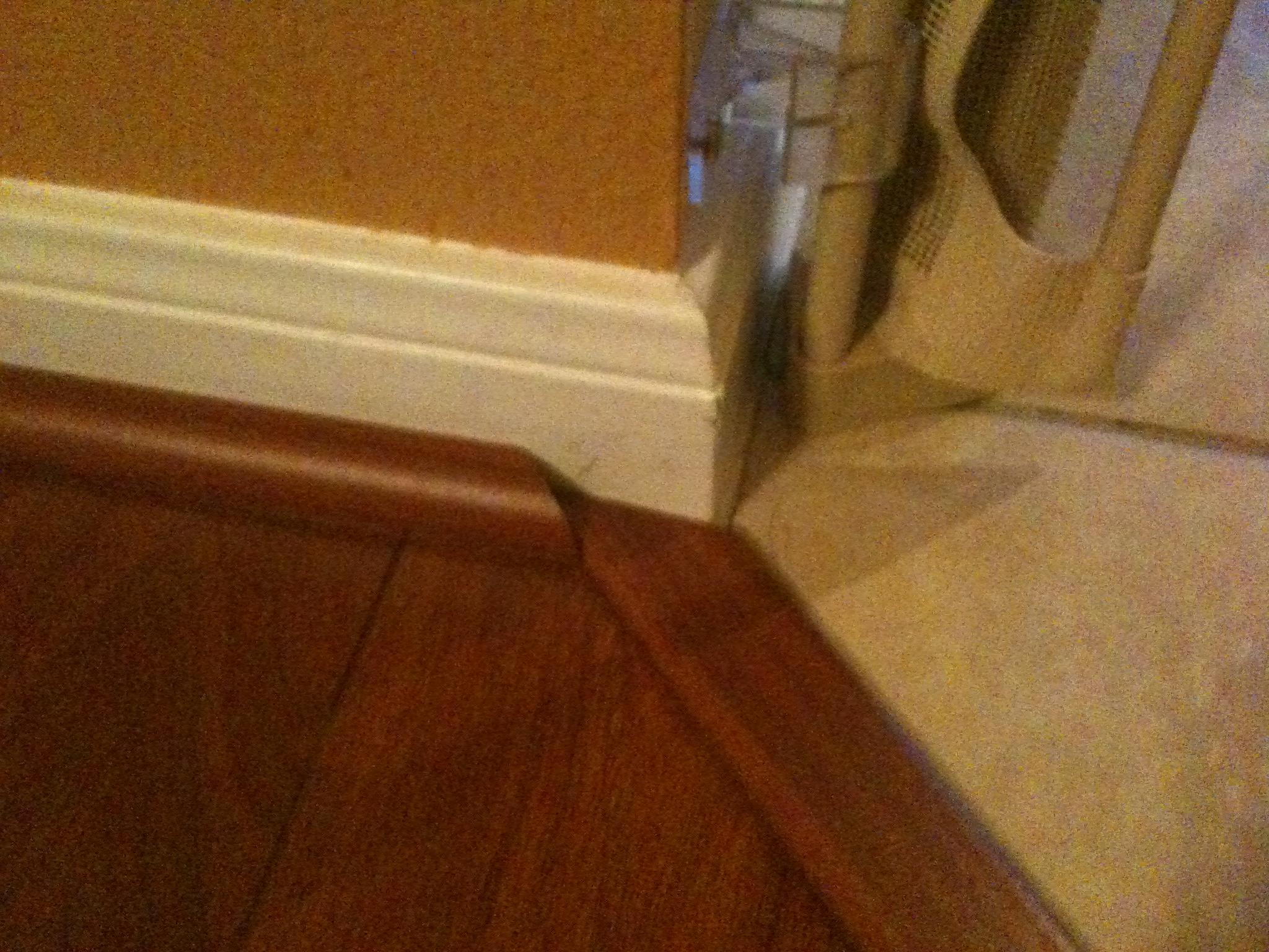 Baseboard Or Quarter Round Over Wood Flooring Designs
