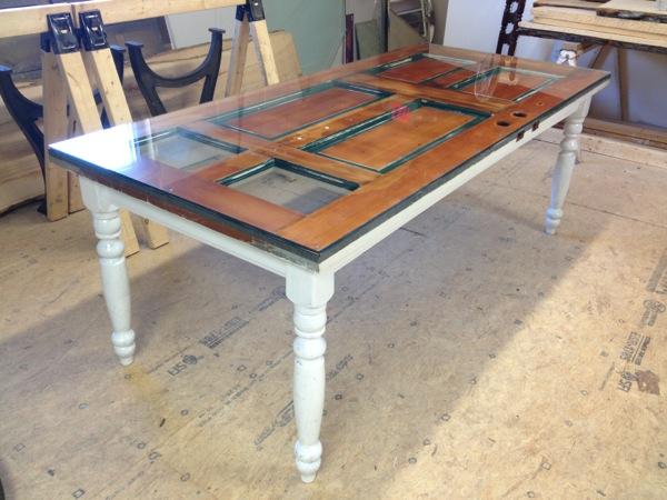 Inhousecustom Home Reclaimed Door Dining Table Desk