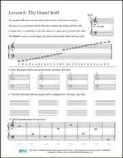 image regarding Printable Music Theory Worksheets named Free of charge Printable Songs Worksheets Opus Audio Worksheets
