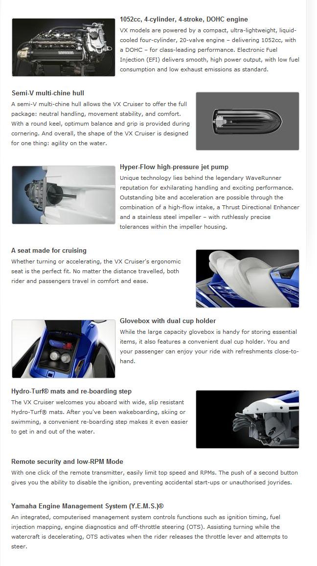 Yamaha Vx Cruiser - New and Used Jetski's and ATV's