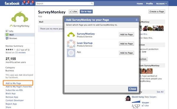 Smart: Embed Your SurveyMonkey Survey on Your Facebook