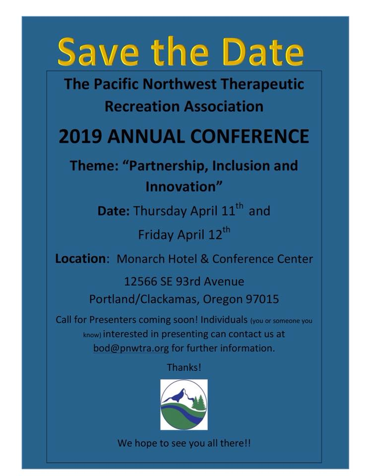 Pacific Northwest Therapeutic Recreation Association