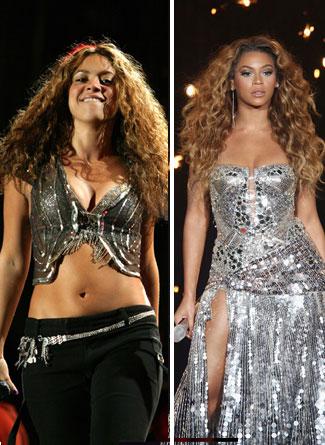 Blessinger Blog Shakira And Beyonce