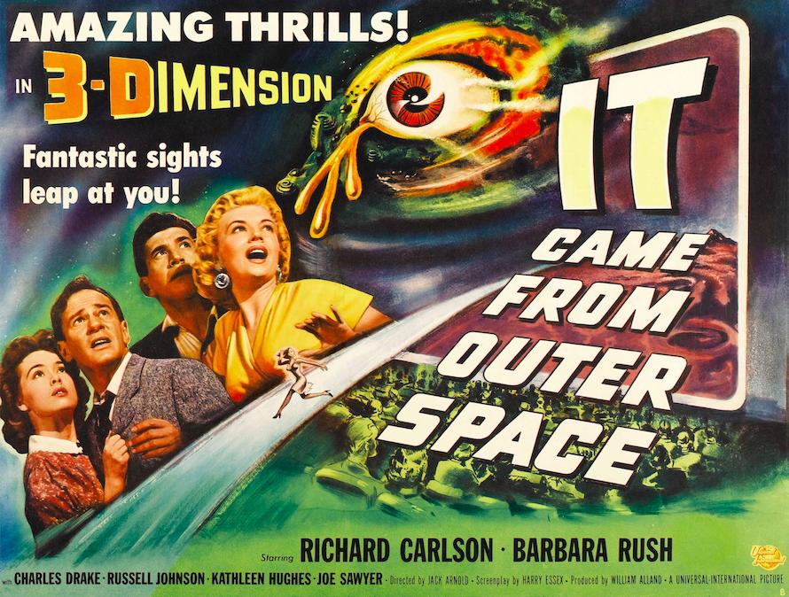 Vintage Movie Poster T Shirt The Blob