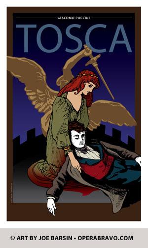 Tosca, Opera - Opera Themes - JEB Design: Annapolis, MD